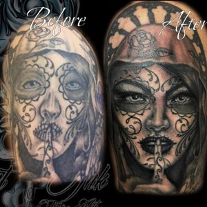 Coverup by Cat Ink. Per info contattami DM - #tattoo #tatuaggio #italiantattoo #ink #tattoos #inked #inkedgirls #inktober #tattooed #tattooer #italiantattooartist #traditionaltattoo #realtattoos #watercolor #colortattoo #tattooist #inklife #art #artoftheday #coloredtattoo #inkinspiration #tattooinspiration #thebesttattooartists #tattoodo #tattoolove #mustcrew @musttattooline_officialpage @mustcream
