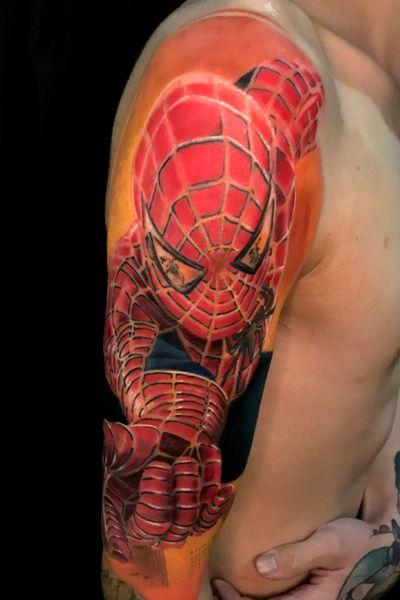 El proceso, falta 1 sesion #spiderman #realism #realistic +56 9 64953460