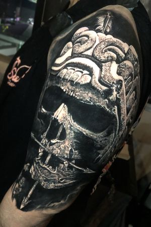 Did this over 2 days at Mayan Mayhem (cover up)
