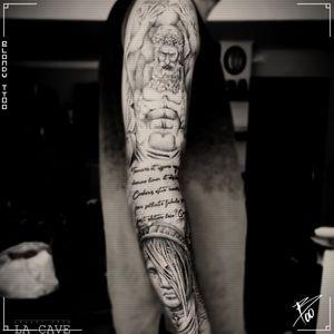 #sleeve #realism #realistic #realistictattoo #realidticsleeve #statue #statues #tattoosleeve #bruxelles #Brussels #bruxellestattoo #blondy #3dtattoo #facetattoo