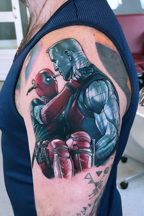 Deadpool and Colossus