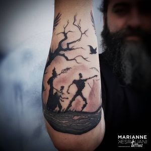 #tattoo #tattooed #tattooedman #tattooedforlife #tattooaddict #tattooaddiction #forearmtattoo #harrypotter #harrypottertattoo #ink #inked #InkAddiction #inkaddict #inkedman