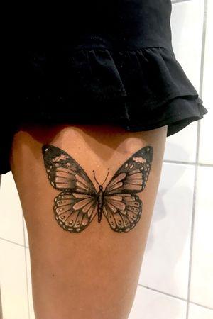 #butterflytattoo #bnginksociety #girlytattoo #girlswithtattoos