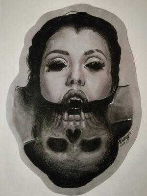 Vampire Black & Gray sketch