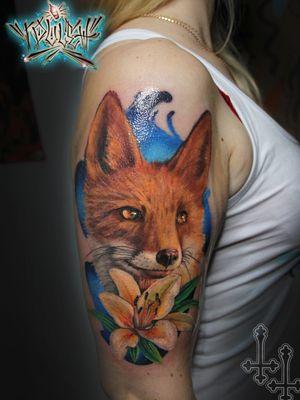 #fox #colortattoo #kwadronneedles