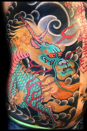 Kirin on ribs. Email me at @kayle@avnte.cc for appointments