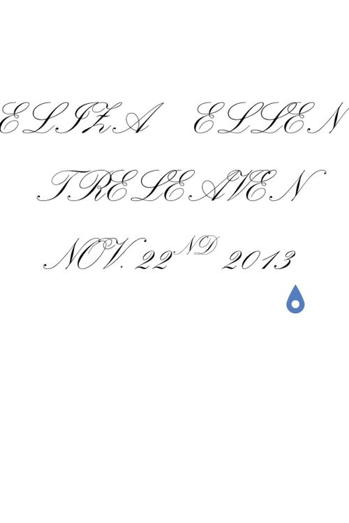 My daughters full name and birth year. I am thinking of putting it along my shoulder blades or on my chest.