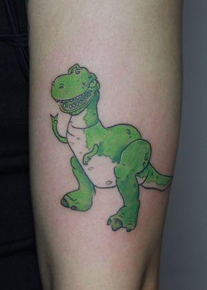 toy story #tattooartist #disneyfan#toystory#toystorytattoo#TattooGirl