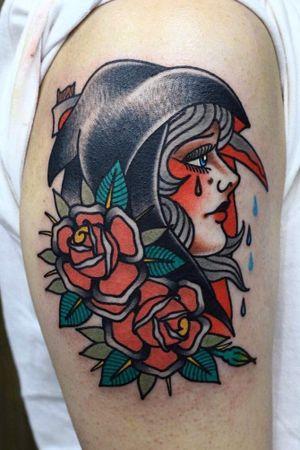 #reaper #rose #woman