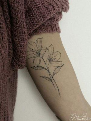 #floral #floraltattoo #tattoofloral #flower #tattooflower #flowertattoo #flowers #flowerstattoo #flowerstattoos #fineline #finelinetattoo #finelineartist #femaletattooartist #tattoosforgirls