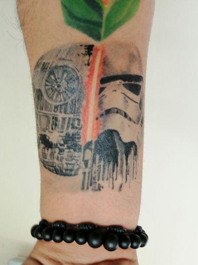 #starwars #Deathstar #stormtrooper