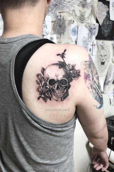 #skulltattoo#tattoo#tattoos#bw#linedrawing#sketchbook#sketch#draft#doodle#black#skull#bone#taiwan#pencilart#human#anatomy#art#artsy#artwork#artists#tattooartist#tattooer#play#instastyle#inspirational#design#dark#skull#台灣#刺青