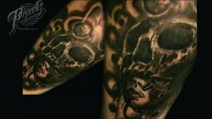 Sombras tattoo #inktattoo #intenze#formula23
