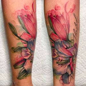 #watercolor #color #flower #eternalink #fkirons