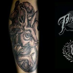 Neotraditional grey tattoo #inktattoo #proudlytattoobarber