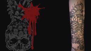 @freehand @Linearte_Tattoo #lineartattoo #auxtattoo #tattoodesign #tattooart #blacktattoo #tattoo #tattoo2us #tattoostyle #tattooing #tattoo2me #tattooist #tattoo_artwork