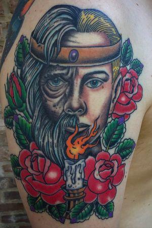 Healed #healedtattoo #traditionaltattoo #tattooart