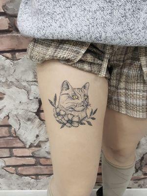 Line shading tattoo