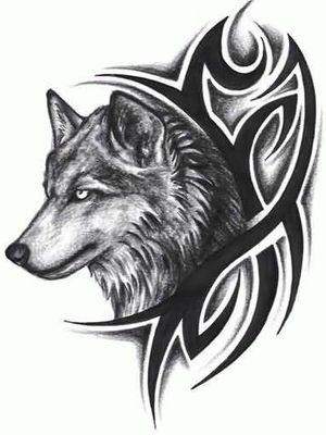 #Vorlage #wolf