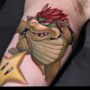 More progress on my super smash bro. Sleeve, cant have a fight without a final boss!