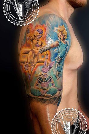 #dragonballtattoo #dragonball #dragonballz #benten #friedrichbenzler #chemnitz #tattoo #leipzig #dresden #zwickau #plauen
