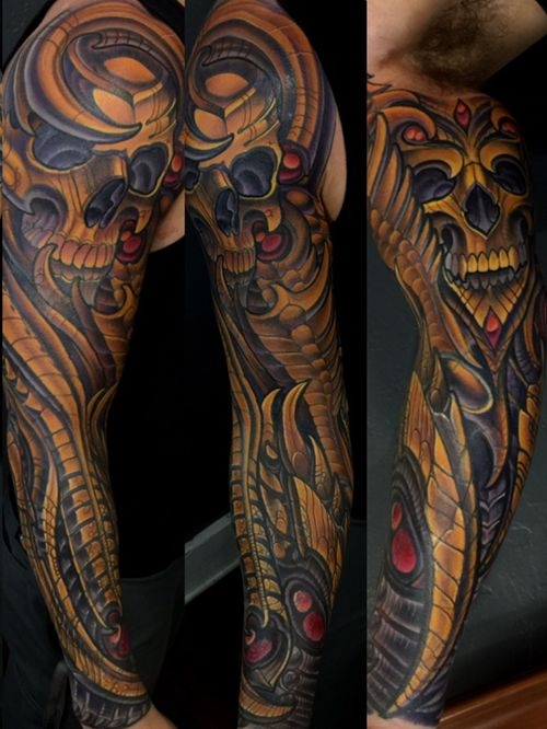 Bionechanical cover up by Terry Ribera