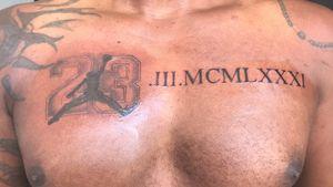 Data da NBA 👊🏻 @ramiroza_tattoo