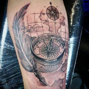 Compass tattoo!