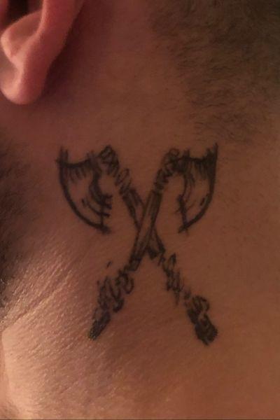 .#axe #tattooart #tattooartist #ink #viking
