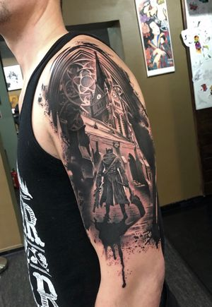 Bloodborne themed design