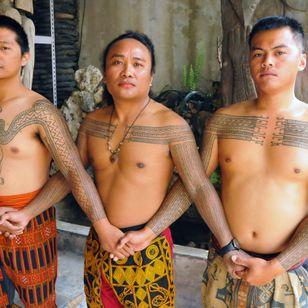 Kuljelje Kalivuan, Cudjuy Patjidres, and Cangal are part of the Paiwan tattoo revival. TAIWAN. Photo: © Lars Krutak 2016. #LarsKrutak #tattoohistory #tattooculture #tattooanthropologist