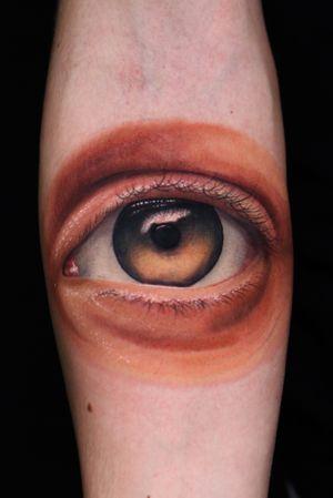 👁 #Eye @onemoretattoolu Using #inkjecta #hustlebutterdeluxe #magicmoontattoosupply #theinkedarmy #magicmooncartridges #magicmooncartridges #inkjectapro #tattoo #color #ink #luxembourg