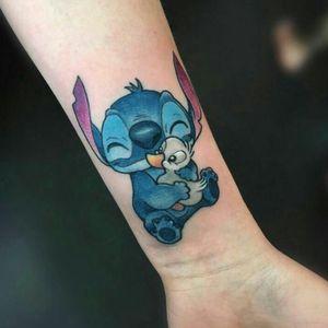 #stitch #liloandstitch #Disney #duck