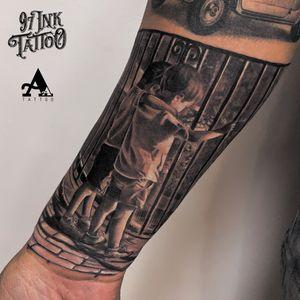 💉💉💉 @viking_inks @cheyenne_tattooequipment @kwadron @besttattoospainart @dynamiccolor 💉💉💉 #tattoo #tattoosnob #colorful #cuphead #inked #tattooart #music #ink #sketch #cute #illustration #artwork #flash #tattoooftheday #art #tatuajes #blackandgrey #tattooworkers #sketchtattoo #realism #realismtattoo #handmade #design #realismotattoo #tattoosocial #tattoodo