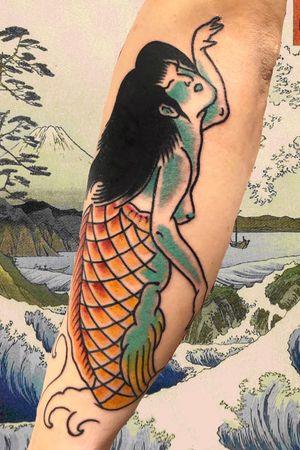 Japanese mermade #italianjapanesetattoo #top_class_tattooing #japanart #topttattooing #topclasstattoing #bright_and_bold #americanatattoos #italian_traditional_tattoo #friendship #realtraditional #inked #oriemtaltattoo #tattoo #tattooes #tattooitaly #convention #tattoolife #tattoolifemagazine #inkart #tattooartistmagazine #bologna #tattoobologna #bolognatattoo #horrorvacuitattoo #tatuaggibologna #tttism #japanesetattoo