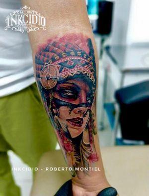 Instagram: @robert.lexus #inkcidio #robertomontieltattooart #MexicoCity #tattooartist #ink
