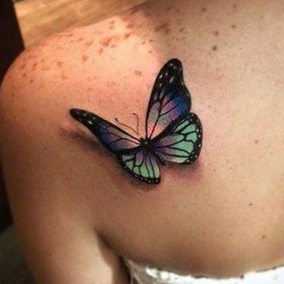 farfalla3d #Butterfly #farfalla #farfalla3d #3d #tatuaggio3d #3dtatoo #Farfalla