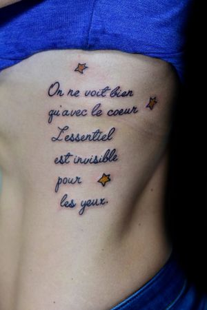 #tattooquote #tatuagemfrase #pequenoprincipe #thiagopadovani