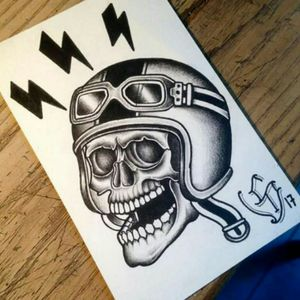 💀 #skeleton #skeletontattoo #skulltattoo #skull #blacktattoos #blacktattoo #traditionaltattoos #TraditionalArtist #Tattoodo