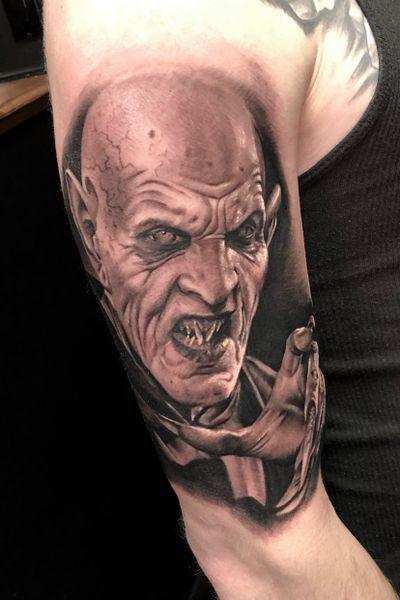 #vampire #vampiretattoo #Dracula #draculatattoo#realistictattoo