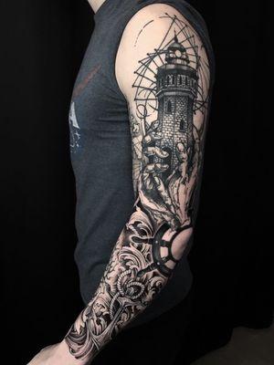 #tattoo#linework#sketch#dotwork#blackwork#art#sketch#tattoosketch#tattoodesign#dark#darkartist#tattoostyle#sleeve#darkart#geometry#tkach
