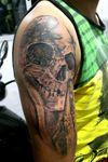 #neo_art_and_tattoo #CalaveraTattoo #CoverUpTattoos