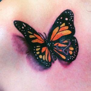 #Butterflies #buterflytattoo #tattooartist #zillionairesink