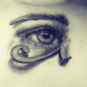 #eyeofhorus #tattoos #tattoostyle #art #egyptian #losangeles #californiastreettattoo