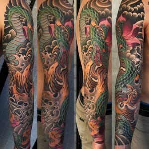 #tiger#snake #sleeve #sandiego#california