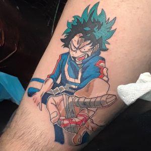My Hero Academia Deku Tattoo