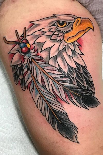 #traditional #eagle #feather