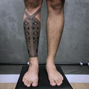 Tattoo by Xapiripa #Xapiripa #blackwork #tribal #Hindu #ornamental #patternwork #dotwork #linework #spirituality