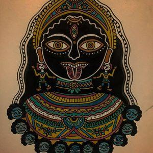 Painting by Xapiripa #Xapiripa #tattooflash #tattoopainting #painting