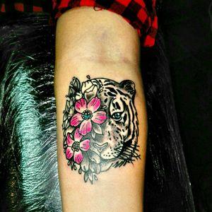#tigertattoo #AtWork #myartwork #lovemyjob #tattooing